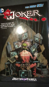 JOKER. DEATH OF THE FAMILY HARDCOVER. DC COMICS.THE NEW52,ERA