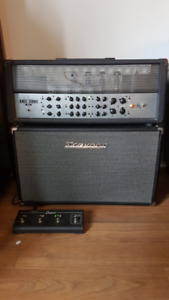 Traynor YCS100H 100 Watt Tube Amp and YCX212 Cabinet