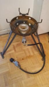 Propane Large pot burner  pick up only parkdale  Toronto  ont