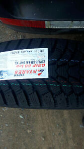 4 X BRAND NEW WINTER 205/55/16 TIRES WOW $400 TAX IN