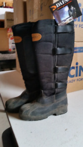 Dafna horse riding winter boots