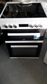 Beko Double Oven / Grill & Ceramic Hob. £150