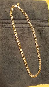Diamond cut 925 silver necklace