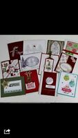 Christmas Card Stamp a Stack from Stampin Up