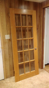 "French door solid wood 32"" x 79"""
