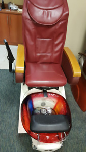 Pipeless Pedicure Chair with Massage - one of a kind