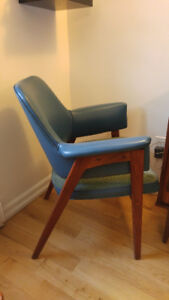 Fabulous mid century retro accent chair teak