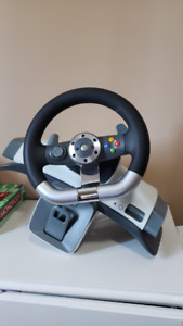 XBOX 360/PC Racing Wheel W/ Pedals