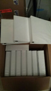 Binders For Sale $25.00