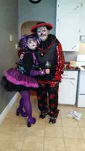 Monster High Doll and Clown Costume