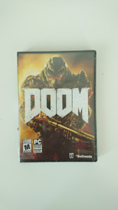 Doom 2016 for PC, Shrink Wrapped Unused Serial