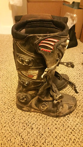 FOX comp 5, size 9 motocross boots