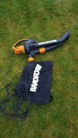 Worx 240v Leaf blower & vacuum