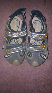 Geox sandals -youth size 10