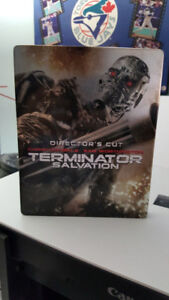 TERMINATOR SALVATION STEELBOOK  BLURAY