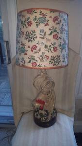 Vintage Rooster Lamp By Barbara Baldwin (1914 - 2007)