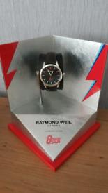 BRAND NEW Raymond Weil David Bowie Watch