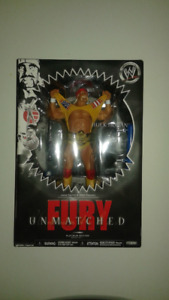 "Unmatched Fury, Series no 01, ""Hulk Hogan"" Figure"