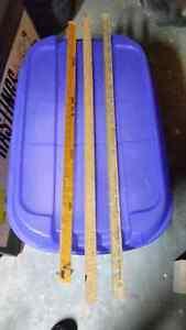 Set of 3 Vintage Yardsticks For Sale Kitchener / Waterloo Kitchener Area image 2