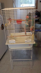 Large Bird cage comes with all accessories