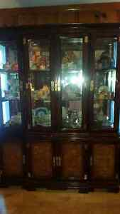 Spectacular large Oriental display / china cabinet