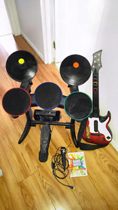 Rock band jeux wii