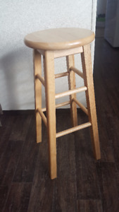 6 Maple Bar Stools for sale: $20.00 a piece.