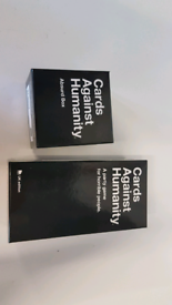 Cards against humanity and expansion box