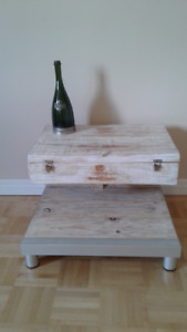 "Decorative coffee table&wine bar box, TM""Private Collection"""