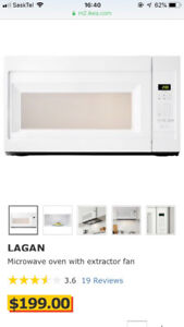 Brand new Microwave with extractor fan