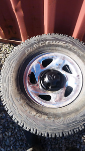 Reduced Dodge ram rims and tires