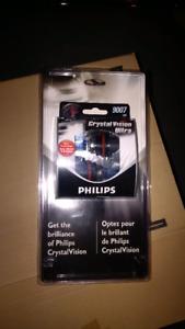 2 Philips Crystal Vision Ultra 9007 Bulbs