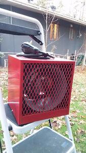 Radiateur de garage Uniwatt de 4800 watts