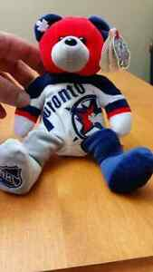 Toronto maple leafs bear. 2000 all star game in Toronto.