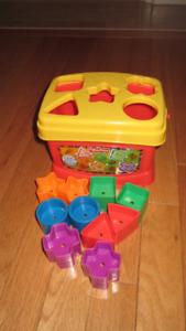 Fisher-Price Baby' s First Blocks Toy