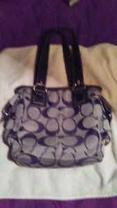 Coach purse and shoes