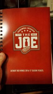 Split Detroit Red Wings Season Ticket with all the Perks?