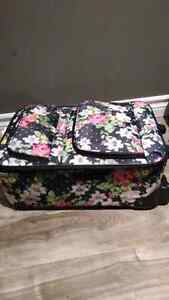 Small Floral Suitcase