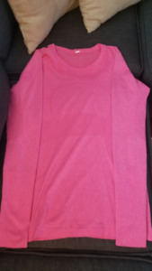 Swiftly Pink Long Sleeve Size 8