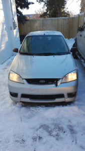 2007 Ford Focus SE with Studded Winter tires