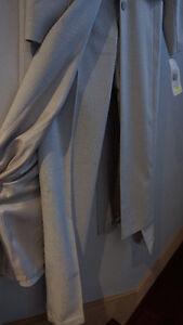 Long Veste gris avec pantalon taille36/6 *Nouveau*