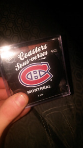 Montreal Canadiens coasters