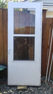 STORM DOOR - used great cond Great for summer