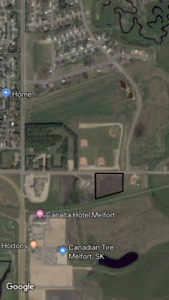 Vacant Commercial Land within City Limits of Melfort!