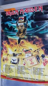 POSTER HEAVY METAL VINTAGE, IRON MAIDEN, SLAYER, OBLIVEON, SPAWN