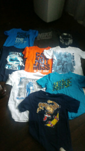 Boys 12-14 lot of T-shirts - brand name