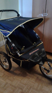 Double pousette /double stroller for sale