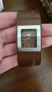 Roots Canada Brown Leather Ladies Watch