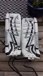 Junior goalie gear: pads, pants, trapper, blocker and more