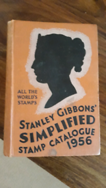 Stanley gibbons simplified stamp catalogue 1956